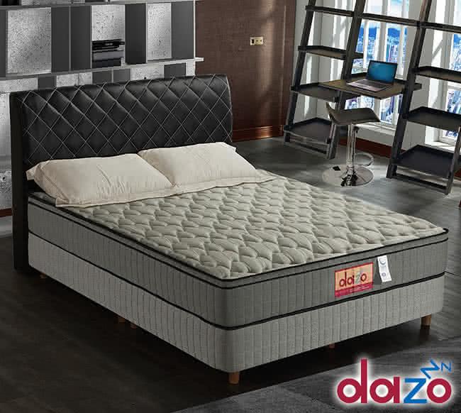 【Dazo】高蓬度3M防潑水釋壓記憶膠蜂巢式獨立筒床墊,床墊,獨立筒,FAMO,麵包床,雙人床墊,乳膠墊,保潔墊