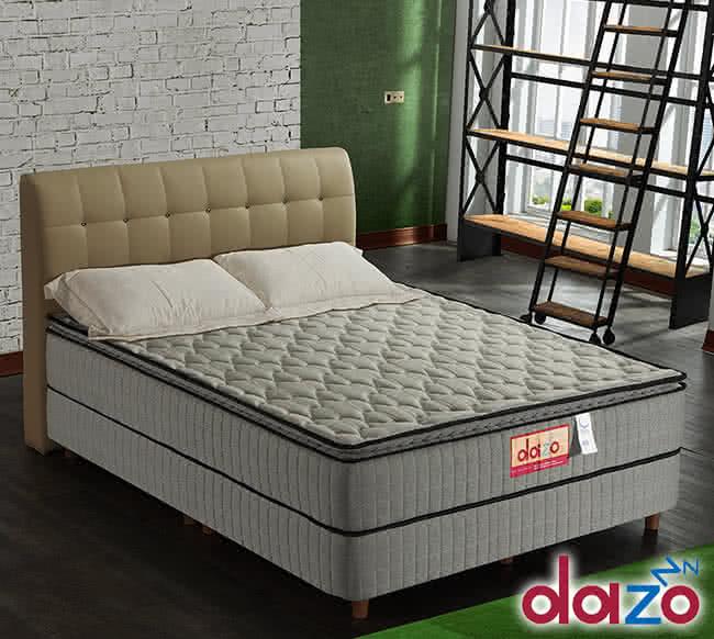 【Dazo得舒】三線3M防潑水高蓬度機能獨立筒床墊-雙人5尺(多支點系列),床墊,獨立筒,FAMO,麵包床,雙人床墊,乳膠墊,保潔墊