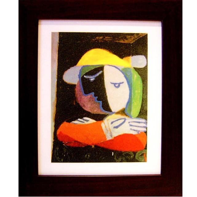 【開運陶源】picasso畢卡索---抽象畫(自我)