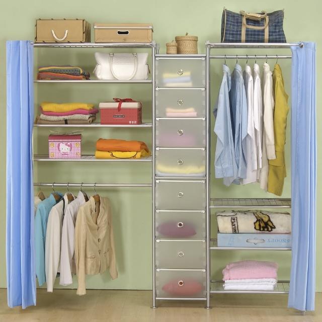 【巴塞隆納】W4型60+D+W4型90衣櫥置物櫃