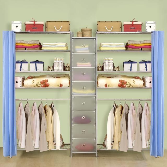 【巴塞隆納】W5型90+D+W5型90衣櫥置物櫃