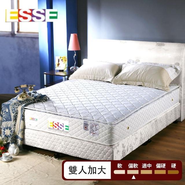 【ESSE御璽名床】舒適三線獨立筒床墊(6x6.2尺-加大尺寸)