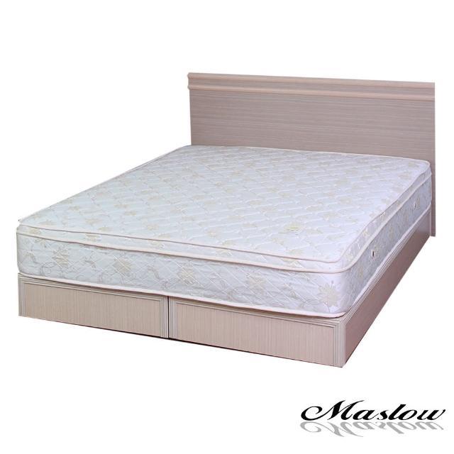 【Maslow-元氣白橡】加大6尺二件式床組(不含床墊)