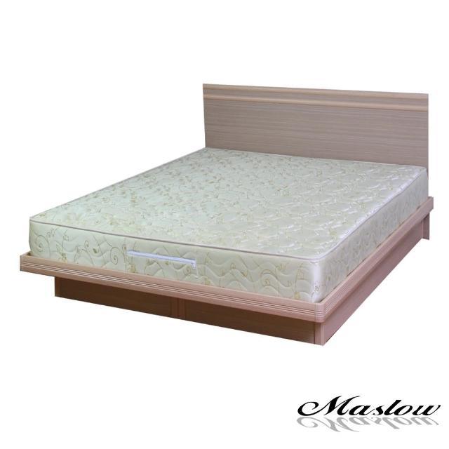 (Maslow-悠活白橡)雙人掀床組-5尺(不含床墊)