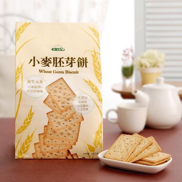 【統一生機】小麥胚芽餅(336g-袋)