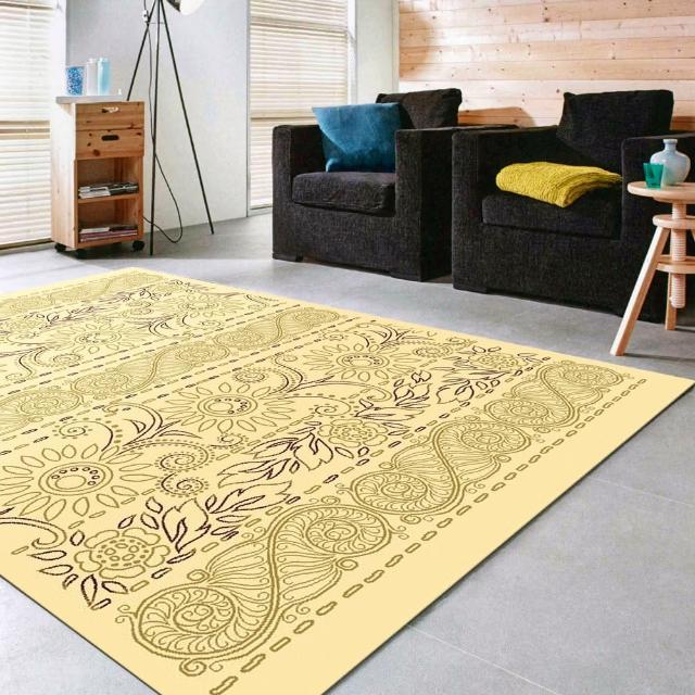 【范登伯格】新世代超柔絲質感地毯-香榭(140x200cm)