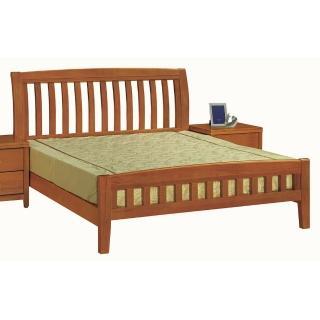 【優利亞-南洋風情】雙人5尺實木床架(不含床墊)
