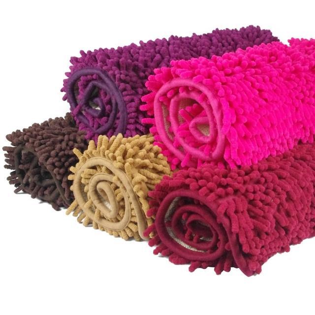 超細纖維珊瑚絨毛地墊(超值3入組)