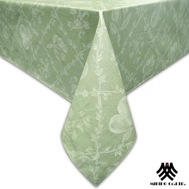 【M.B.H─水果花園】PVC防水桌巾(綠132x132cm)