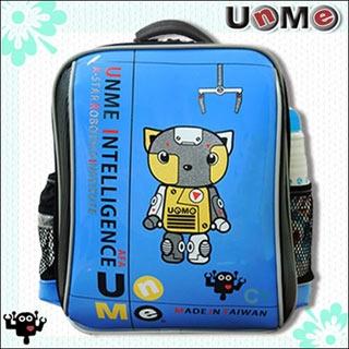 【勤逸軒】UnMe機器人超輕後背書包(寶藍色)