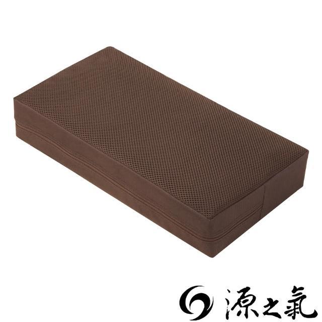 【源之氣】竹炭靜坐墊-小四方加高-二色可選  21X45X9cm RM-40026