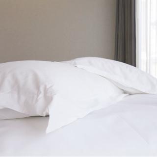 【法式寢飾花季】優雅生活-五星級飯店御用平紋枕套(4入組)
