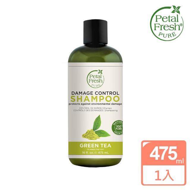 【美國 沛特斯】有機成份綠茶亮采洗髮精(無矽靈-16oz-475ml)