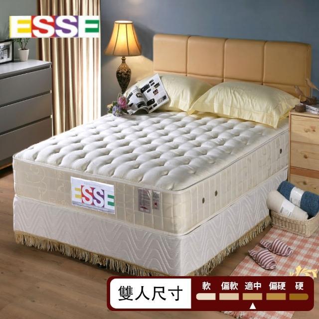 【ESSE御璽名床】硬寶貝二線乳膠2.5硬式床墊(護背系列5x6.2尺 雙人)