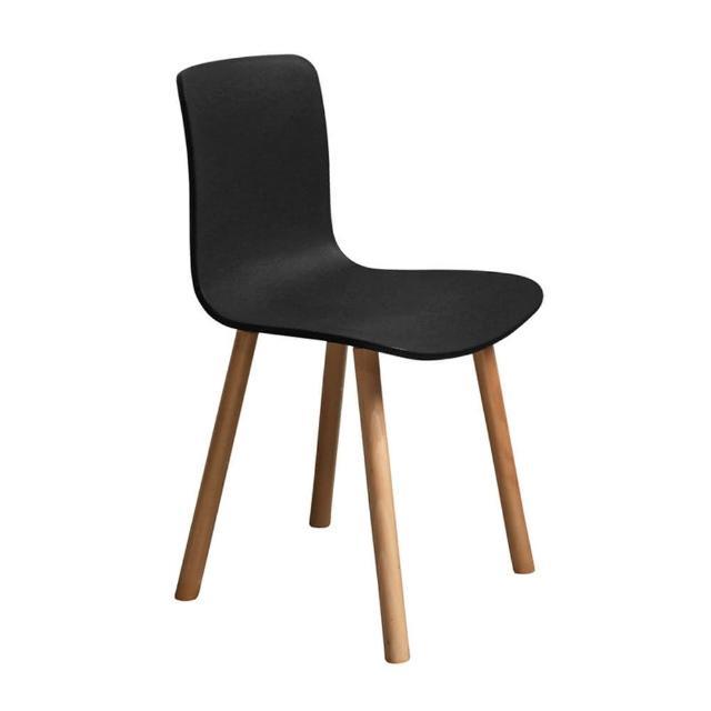 【ONE 生活】普里餐椅(黑-黃-綠-白)