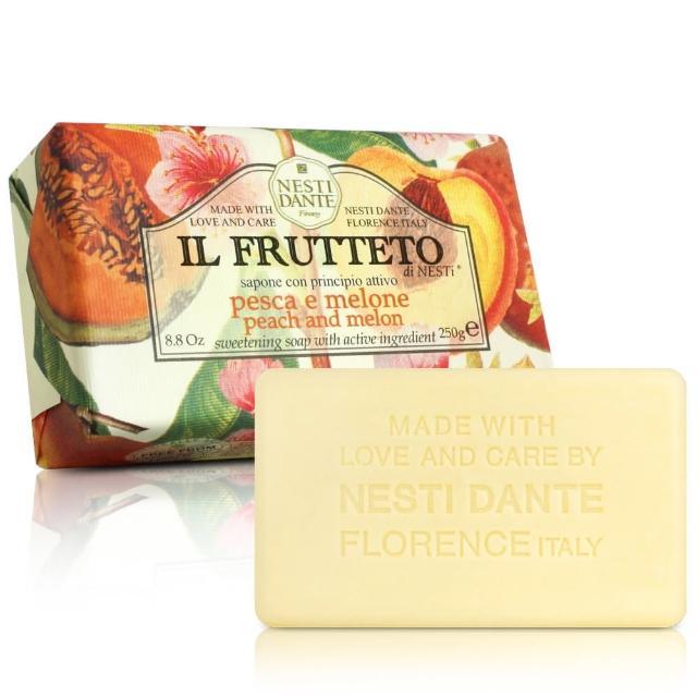 【Nesti Dante  義大利手工皂】天然鮮果系列(杏桃和哈蜜瓜 收斂-250g)