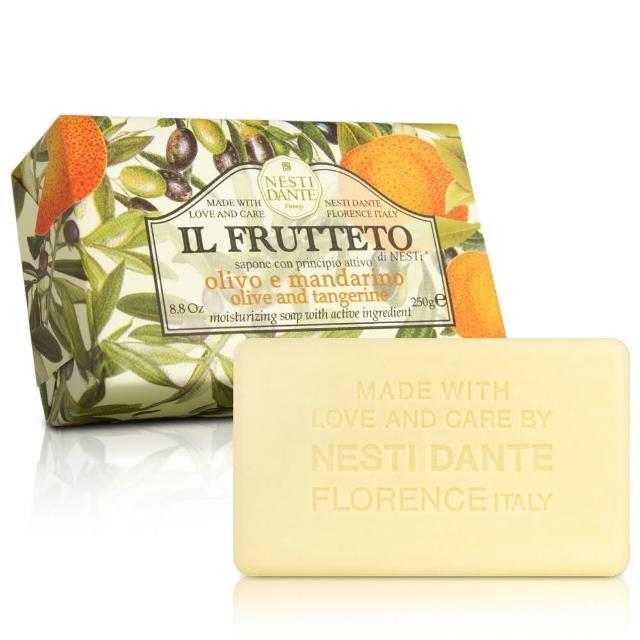 【Nesti Dante  義大利手工皂】天然鮮果系列(純橄欖油和柑橘 滋養-250g)