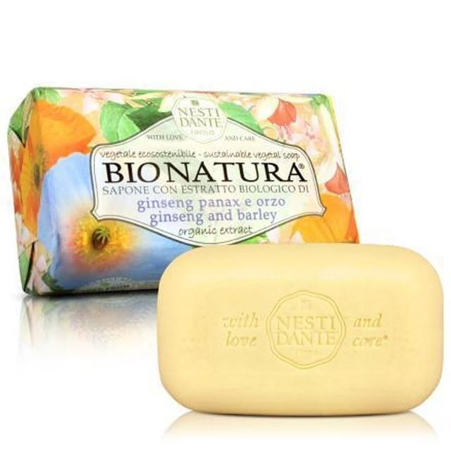 【Nesti Dante  義大利手工皂】天然純植系列(純植人蔘大麥皂-250g)