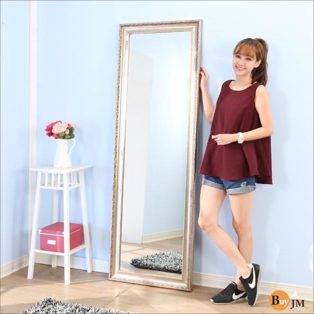 【BuyJM】新古典風立體浮雕穿衣鏡-壁鏡(高183寬60公分)