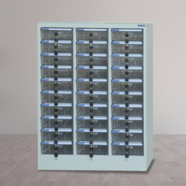 【時尚屋】DF多用途PC存放櫃30格透明抽(RU5-DF-PC-30)