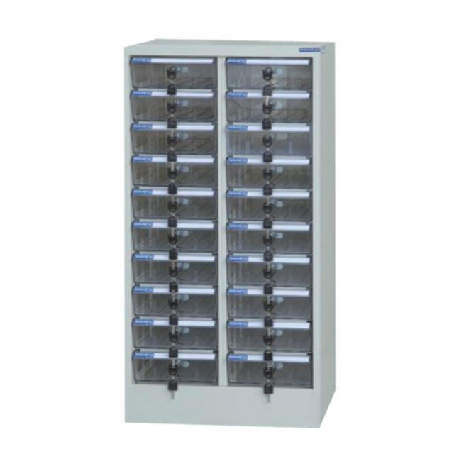 【時尚屋】DF多用途PC存放櫃20格透明抽(RU5-DF-PC-20)