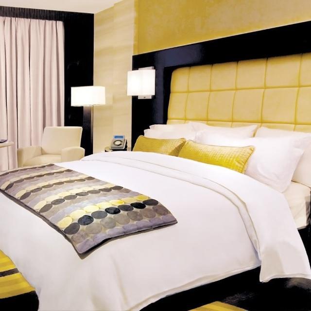 【法式寢飾花季】優雅生活-五星級飯店雙人平紋床包(雙人被套+雙人床單+枕套x2)
