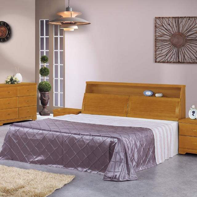 【時尚屋】威爾特6尺樟木加大雙人床-不含床頭櫃-床墊(G16-057-3+057-4)