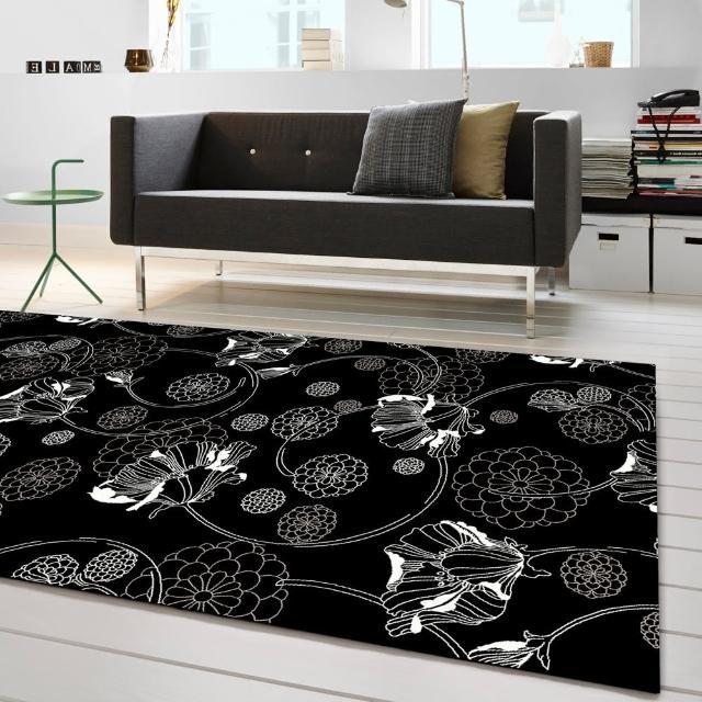 【范登伯格】圓舞曲 百花齊放絲質地毯(160x230cm)