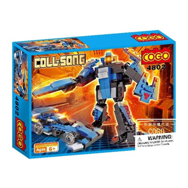【COGO】6合1酷炫機器人系列 方程式賽車-4802