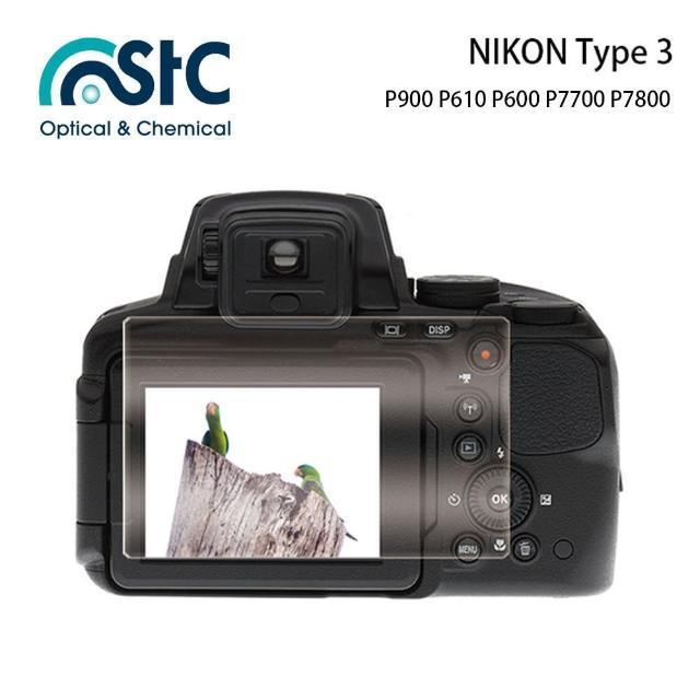 【STC】玻璃螢幕保護貼 NIKON Type A(適用 P900 P610 P600 P7700 P7800)