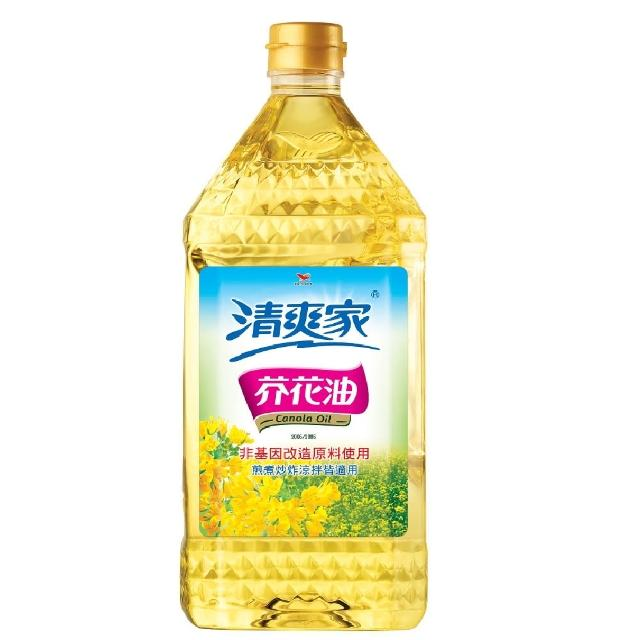 【統一清爽家】芥花油2L-瓶(健康安心的好油)