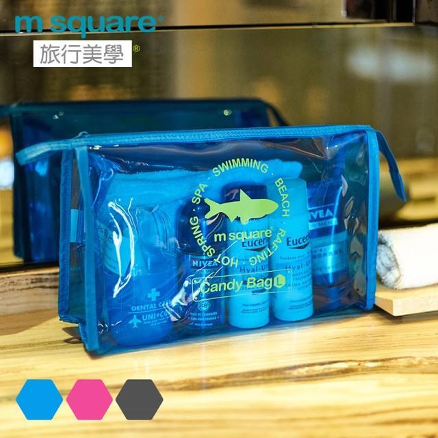 【M Square】M Square親水系列PVC化妝包L