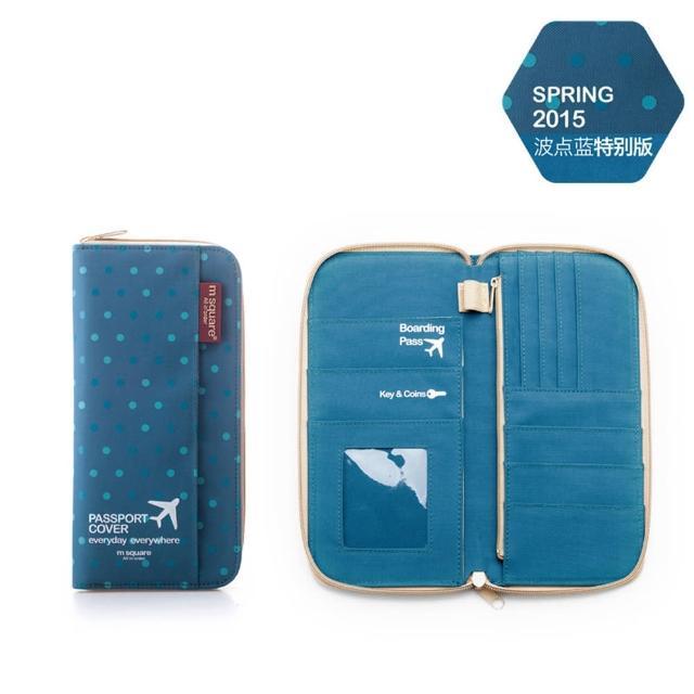 【M Square】拉鍊護照夾