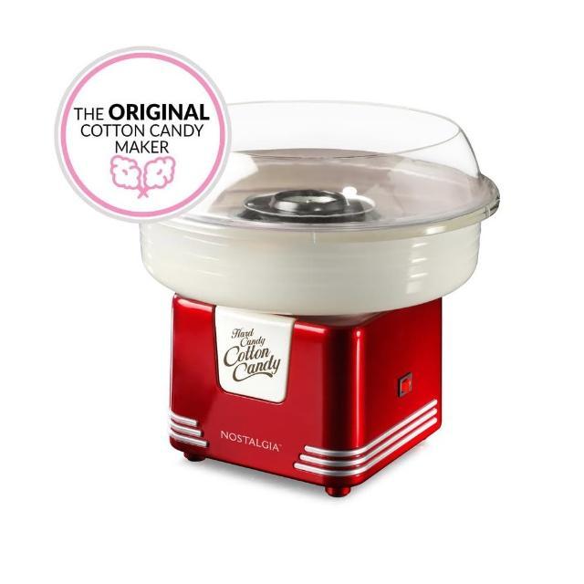 【美國NOSTALGIA】棉花糖機懷舊家電(PCM405紅色)