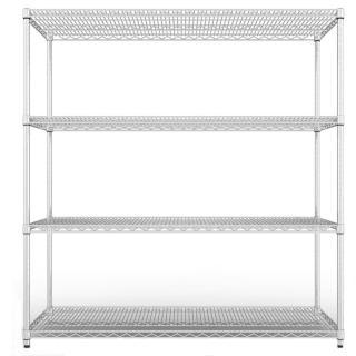 【海克力士】重網150-45-180四層置物鐵架