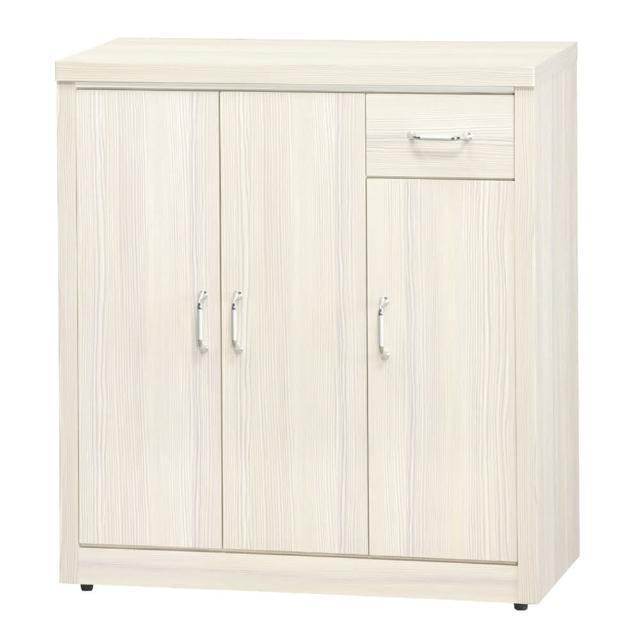 【顛覆設計】珍恩2.9尺木心板三門鞋櫃(三色可選)