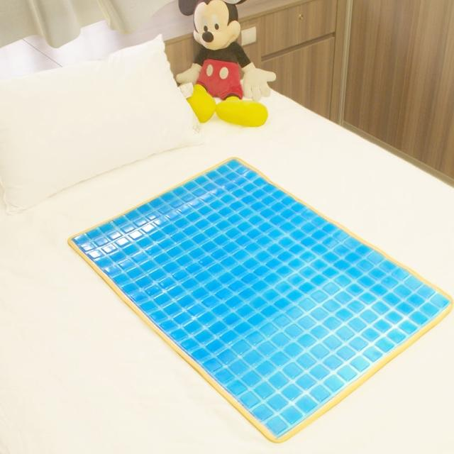 【Seraphic】冰涼Q彈果凍凝膠床墊-座墊(雙面冷暖兩用)