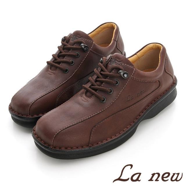 【La new】三密度PU氣墊休閒鞋(男208012485)