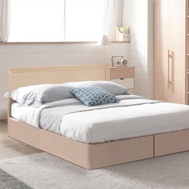 【樂和居】畢斯特二件式3.5尺單人房間組2色可選(床頭片+床底)
