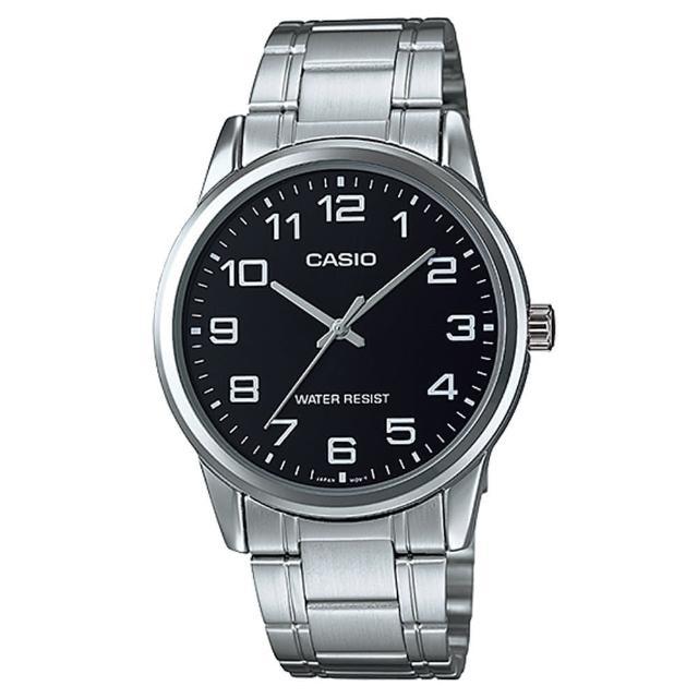 【CASIO】經典商務型男數字指針腕錶(MTP-V001D-1B)