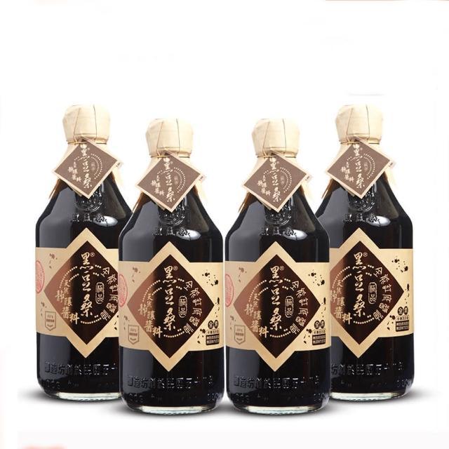 【黑豆桑】天然極品全能缸底醬油(4瓶-盒)