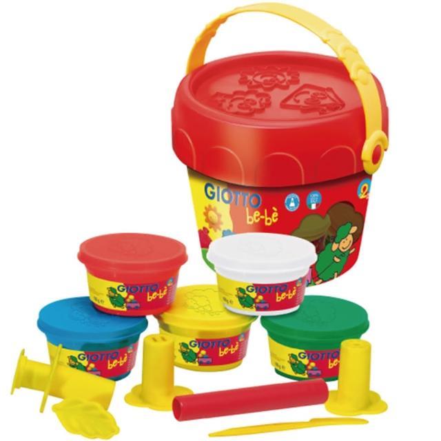 【義大利GIOTTO】幼兒超軟黏土禮物桶
