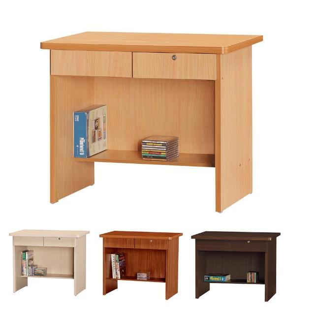 【Bernice】丹尼爾3尺書桌-工作桌(四色可選)