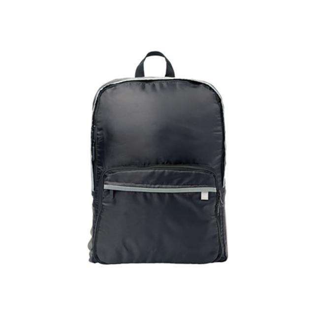 【Go Travel】折疊後背包-黑色(輕量型)