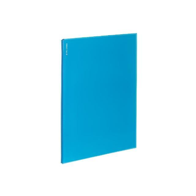 【KOKUYO】Novita α 12口袋夾(淺藍)