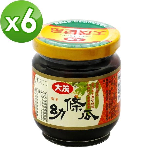 【大茂】幼條瓜-玻璃瓶170gX6入