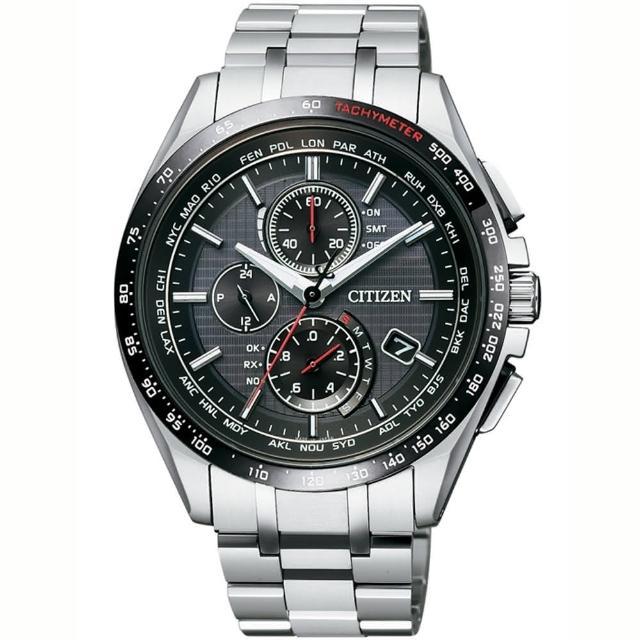 【CITIZEN】光動能電波時尚腕錶(AT8144-51E)