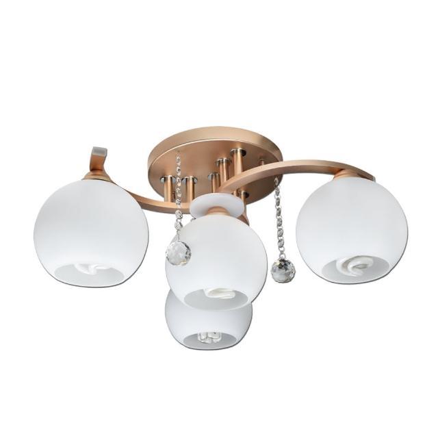 【華燈市】特莉斯3+1燈半吸頂燈(臥室-客廳)