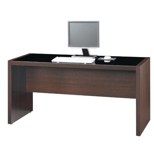 【雅博德】胡桃木色5尺電腦書桌(工作桌-書桌)