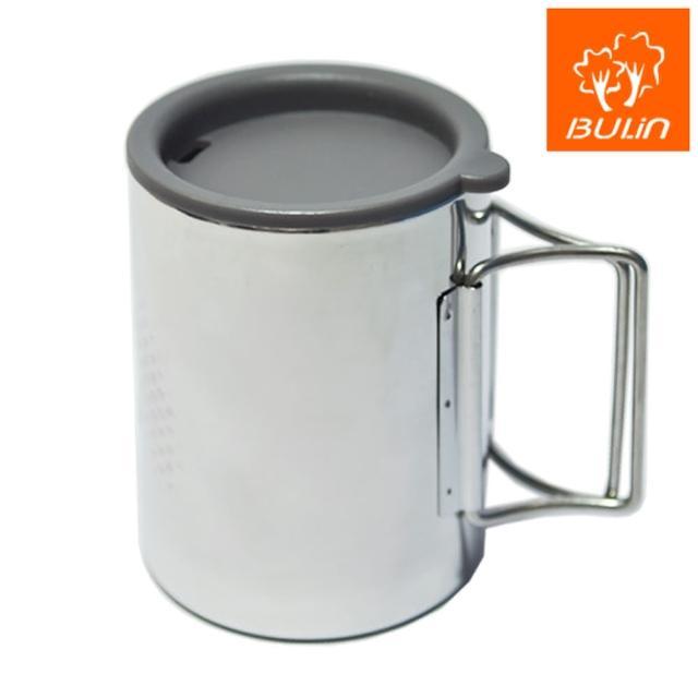 【步林BULIN】環保攜帶式不鏽鋼杯-露營杯-野營杯(大)